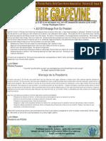 July 22, 2013 GV Newsletter