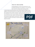 water cycle lesson plan final