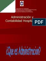Administración y Contabilidad Hospitalaria