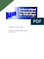 Analisis Curricular Segunda Unidad