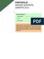 Template Karya Seni Rupa SNMPTN 2014