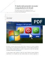 Windows XP ainda está presente em mais de 10