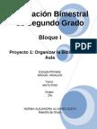 2do Grado - Bloque I - Proyecto 1