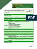 Agenda - II Cumbre de Alcaldes de Redcisur