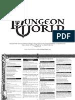 Dungeon World - Super Divisória do Mestre Revisada