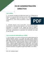 MODELOS DE ADMINISTRACIÓN DIRECTIVA