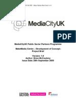 MCUK PSP - Make Media D&a Brief v1.0