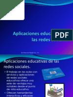 Aplicaciones Educativas de Las Redes Sociales