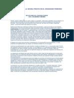 Aplicaciones de La Neuralterapia en El Organismo Femenino