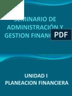 SEMINARIO DE Administración Y GESTION FINANCIERA
