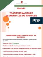 12matrices y Determinantes Transformaciones Elementales
