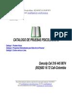 Catalogo Pruebas Encolp