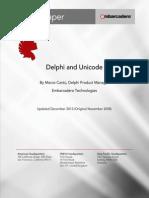 Delphi and Unicode 2013