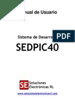 Manual Sedpic40