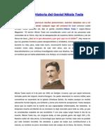 Una Extraña Historia del Genial Nikola Tesla