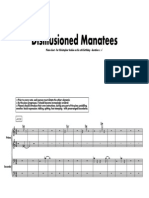 Disillusioned Manatees [Piano Duet]