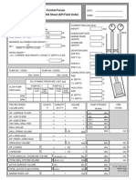 Subsea BOP Stack Operations API - Deviated Well Kill Sheet