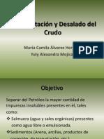 Deshidratación y Desalado del Crudo2