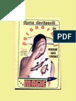 Masajul Fara Contact Paranormal sau Magie_DJUNA DAVITASVILI