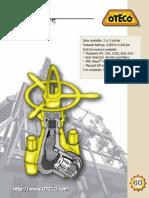 Oteco Gate Valve Product Brochure