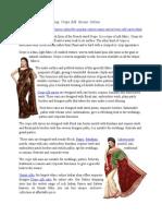 Charming Crepe Silk Sarees Online