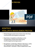 Mp-1, Manajemen Proyek