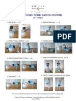Core Training Combination Routine Light