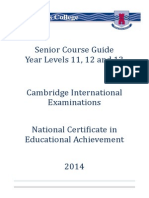 Senior Courseguide2014
