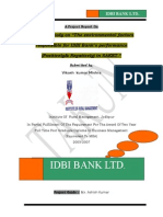 on environmental factors responsible for idbi's performance