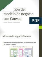 Definición del modelo de negocio con Canvas