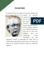 La Psicología de Jean Piaget