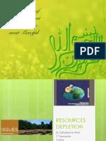 Resources Depletion