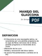 Manejo Del Glaucoma