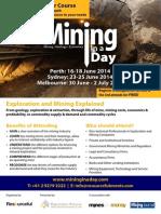 Mining in a Day Australia June 2014 20140328
