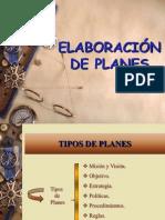 Tipos de Planes Primer Parcial