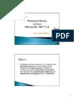 Mono Versus .NET Ceballos