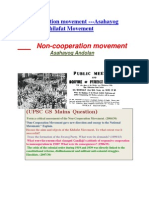 Non- Co-operation Mivement& Khilafat