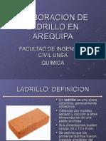 Elaboracion de Ladrillo en Arequipa v2