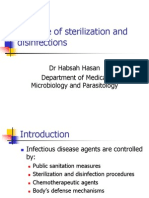 Principle of Sterilization and Disinfectants 2007
