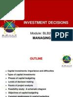 02 Investment Decision