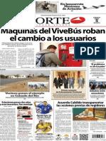 Periódico Norte de Ciudad Juárez edición impresa del 5 abril del 2014