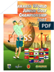 Jakarta World Junior Golf Championship 2007