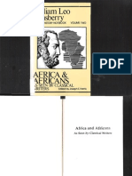 Africa Africans as Seen by Classical Writers William Leo Hansberry
