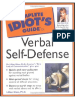 Complete Idiot's Guide to Verbal Self-Defense