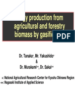 Energy Production From Agriculture