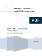 2013_14 MBA Marketing Module Book
