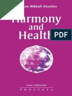 Harmony and Health (Izvor Collection) - Aivanhov, Omraam Mikhael