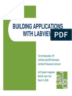 Labview Building Applications With