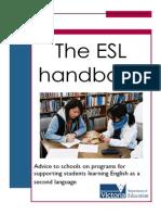 Esl Handbook