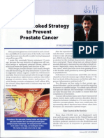 An Overlooked Strategy to Prevent Prostate Cancer